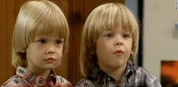 Nicky and Alex from Full House