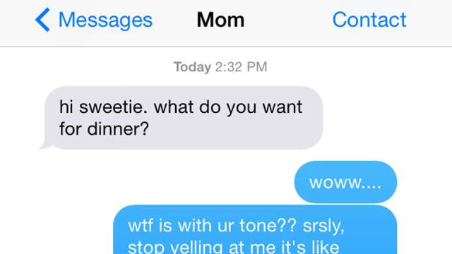 5 Texts From Mom So Embarrassing We Literally Can't Even